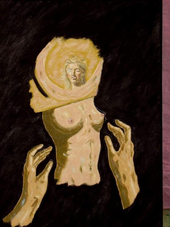 The Glory,35 x 50 cm oil, canvas