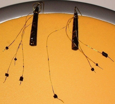 tree of life,earring,wood,gold- auric,glass