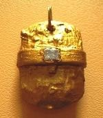Overcoming of difficulties,gold- auric,plastic,aluminium