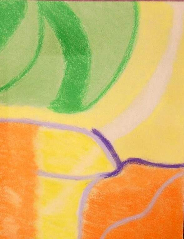 August,pastel 30x42 cm paper