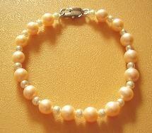 harmony bracelet,pearls