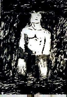 Gloom,50 x 65 cm