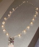world of ideas and feelings,necklace,amethyst,pearls,zircons