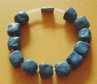 sky 7,bracelet,mixed media