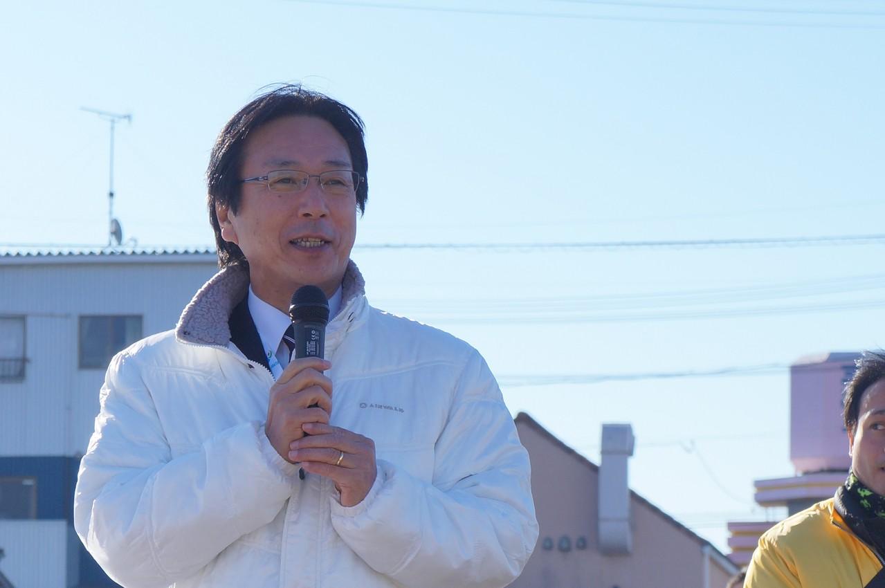 磐田市長のご挨拶
