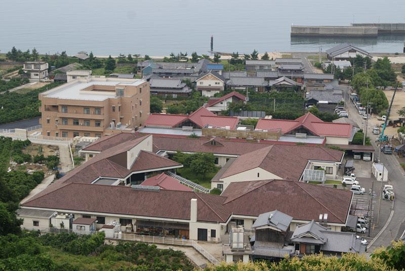 姫ヶ浜荘 俯瞰