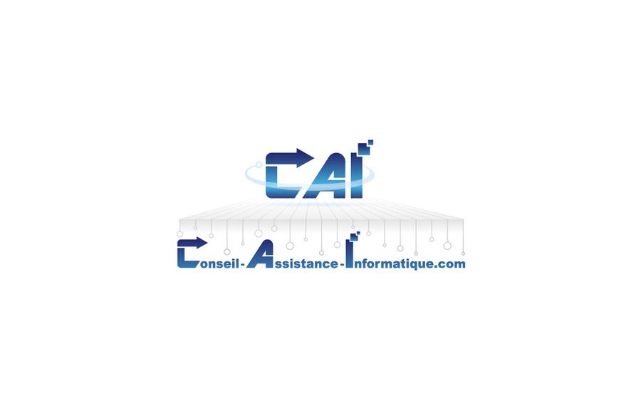 Création logo - Conseil Assistance Informatique - Poitiers (86)