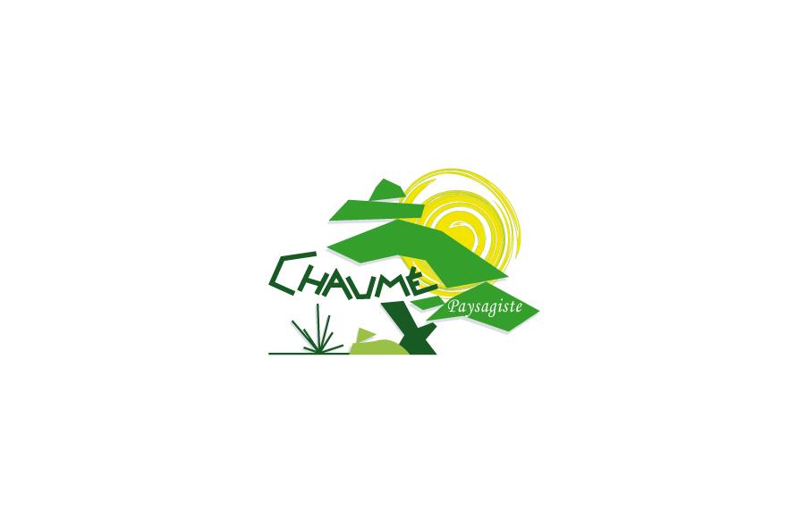 Création logo - Chaumé Paysagiste - Entretien espaces verts, élagage - Poitiers (86)
