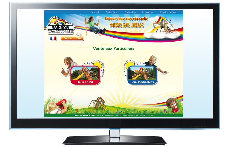 Webdesign - AMJY International, Chauvigny (86)