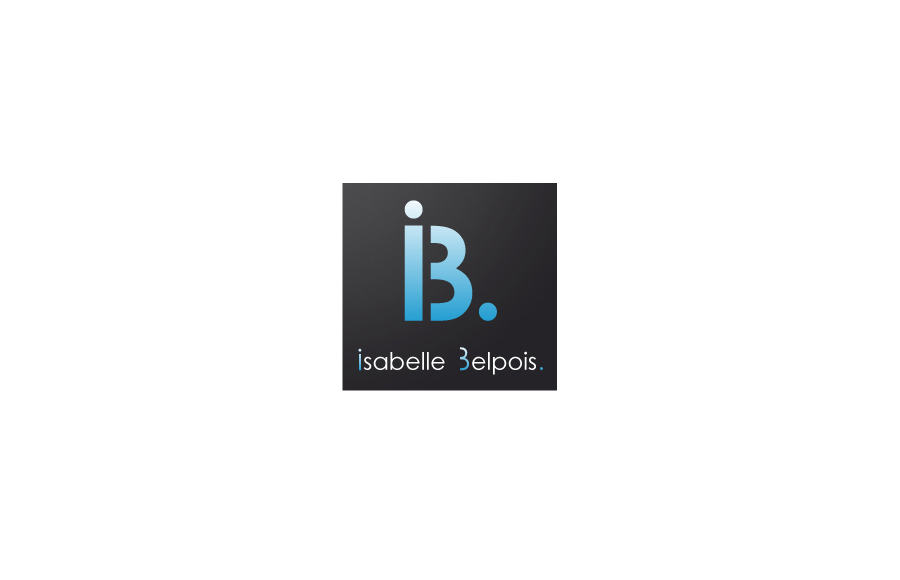 Création logo - Isabelle Belpois - Conception web, formation informatique - Poitiers (86)
