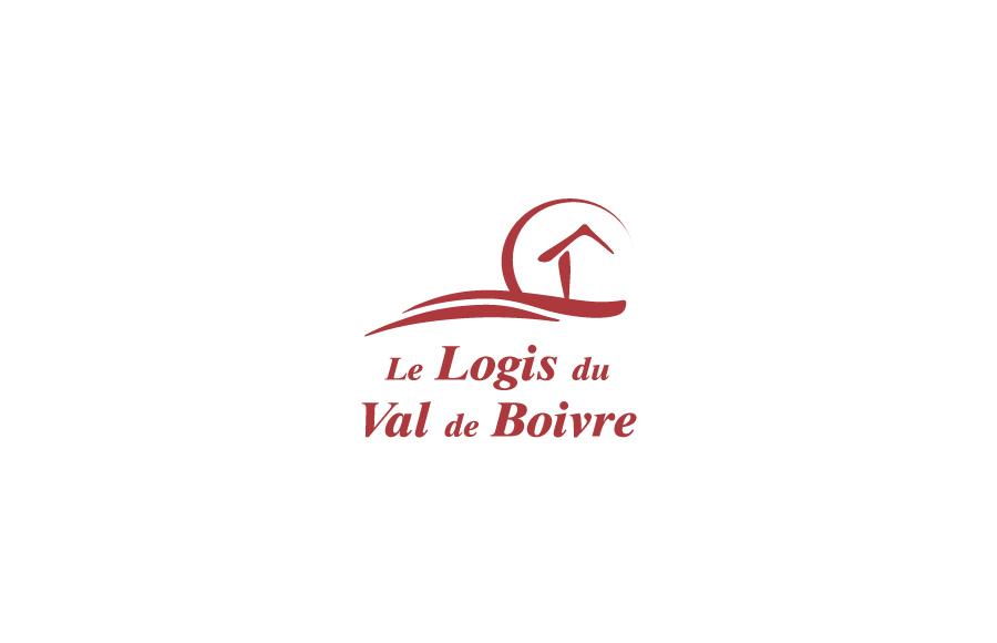 Création logo - Le Logis du Val de Boivre - EHPAD, résidence médicalisée - Vouneuil-sous-Biard (86)