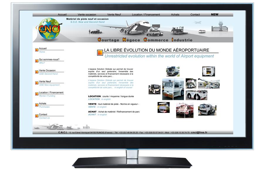 Webdesign - Courtage Négoce Commerce Industrie, Val-de-Marne (94)