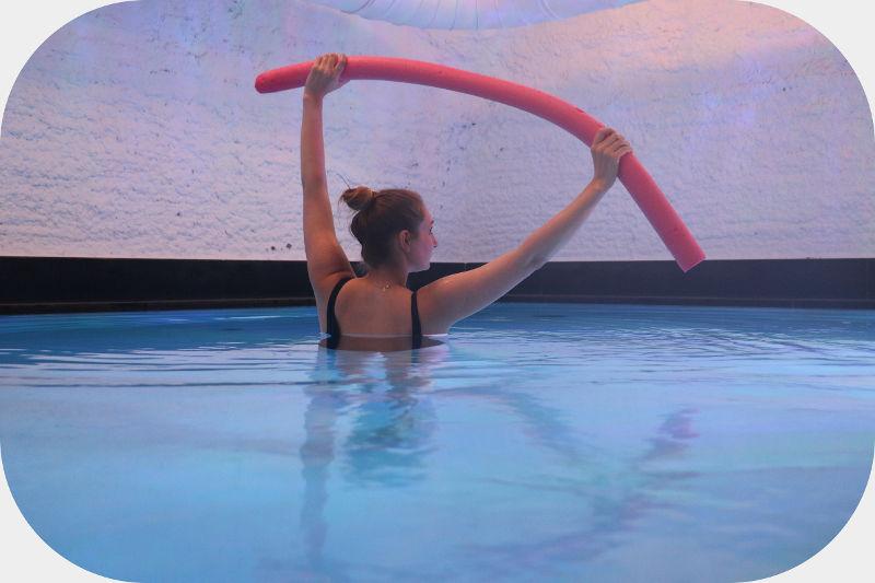 Schwerelos fühlen dank Aquafitness
