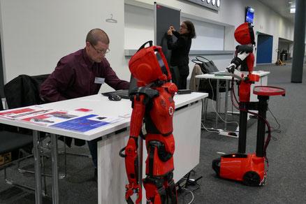 Assistenzroboter Schweiz Lausanne ETH 2017