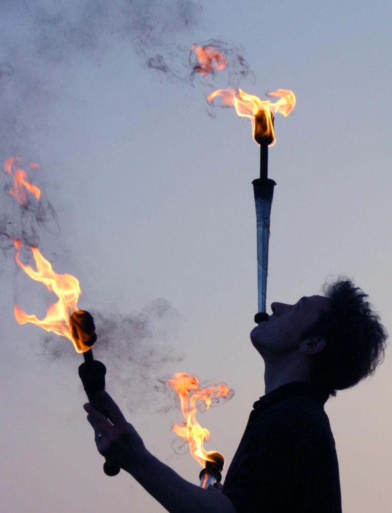 Mit dem Feuer spielen ist Dein Ding?