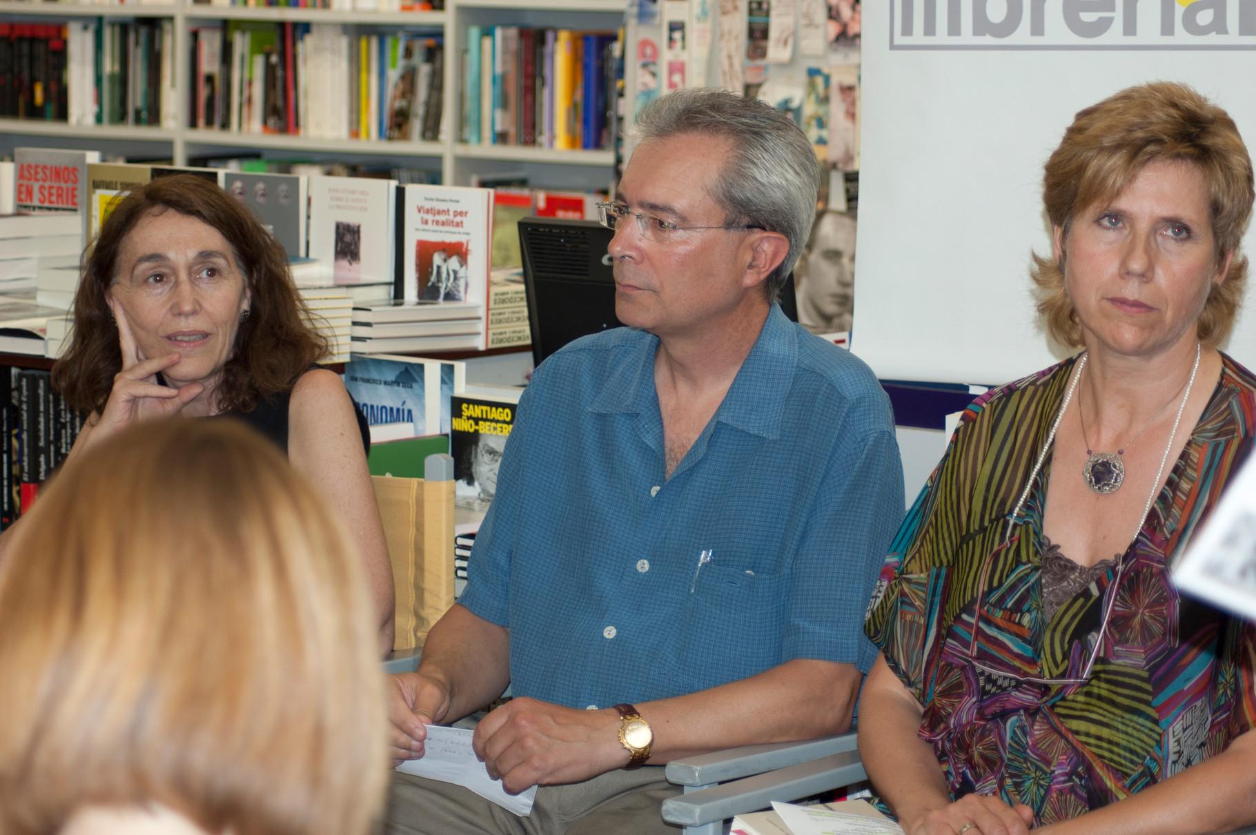 Jaume Bosquet, un dels traductors. Llibreria 22. Girona, 2012