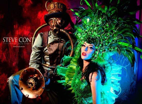 Costumes de scène NEMO & MEDUSA - Franky Lowatt & Ruby Colibri
