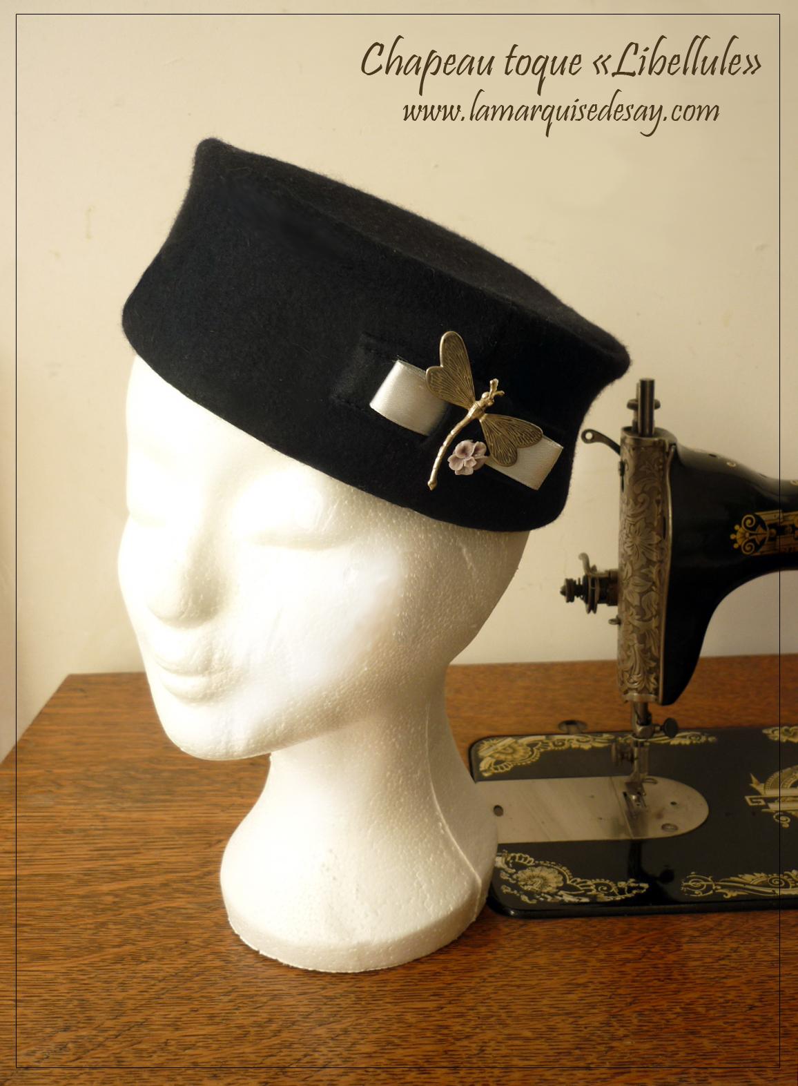 Chapeau toque - chapeau en feutre