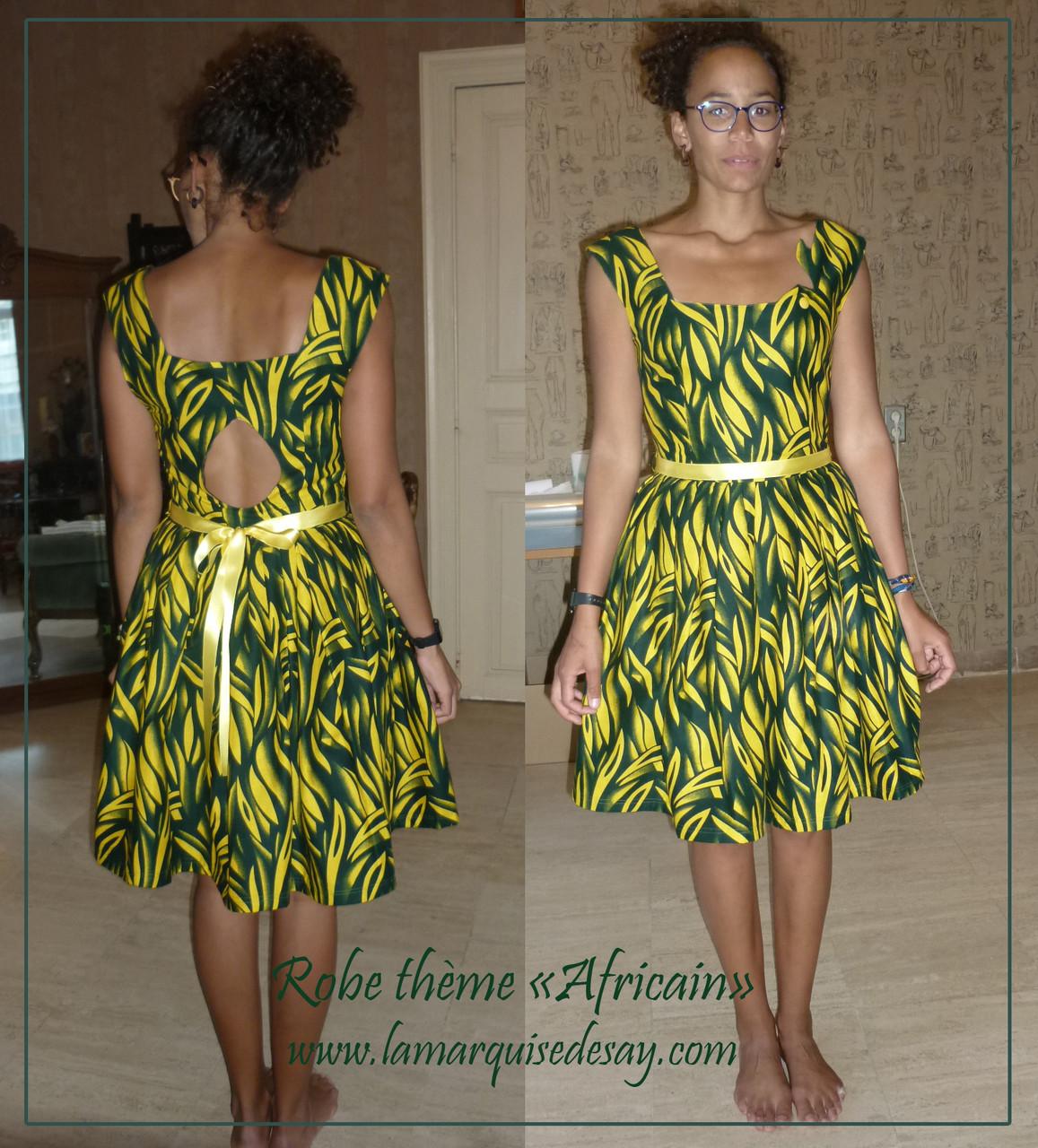 Robe thème AFRICAIN