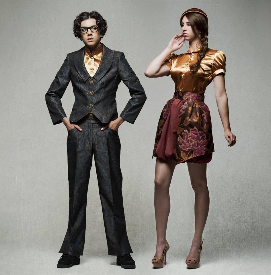 Ensembles CAPITOL (veste, pantalon et chemisier) & (chemisier et jupe)