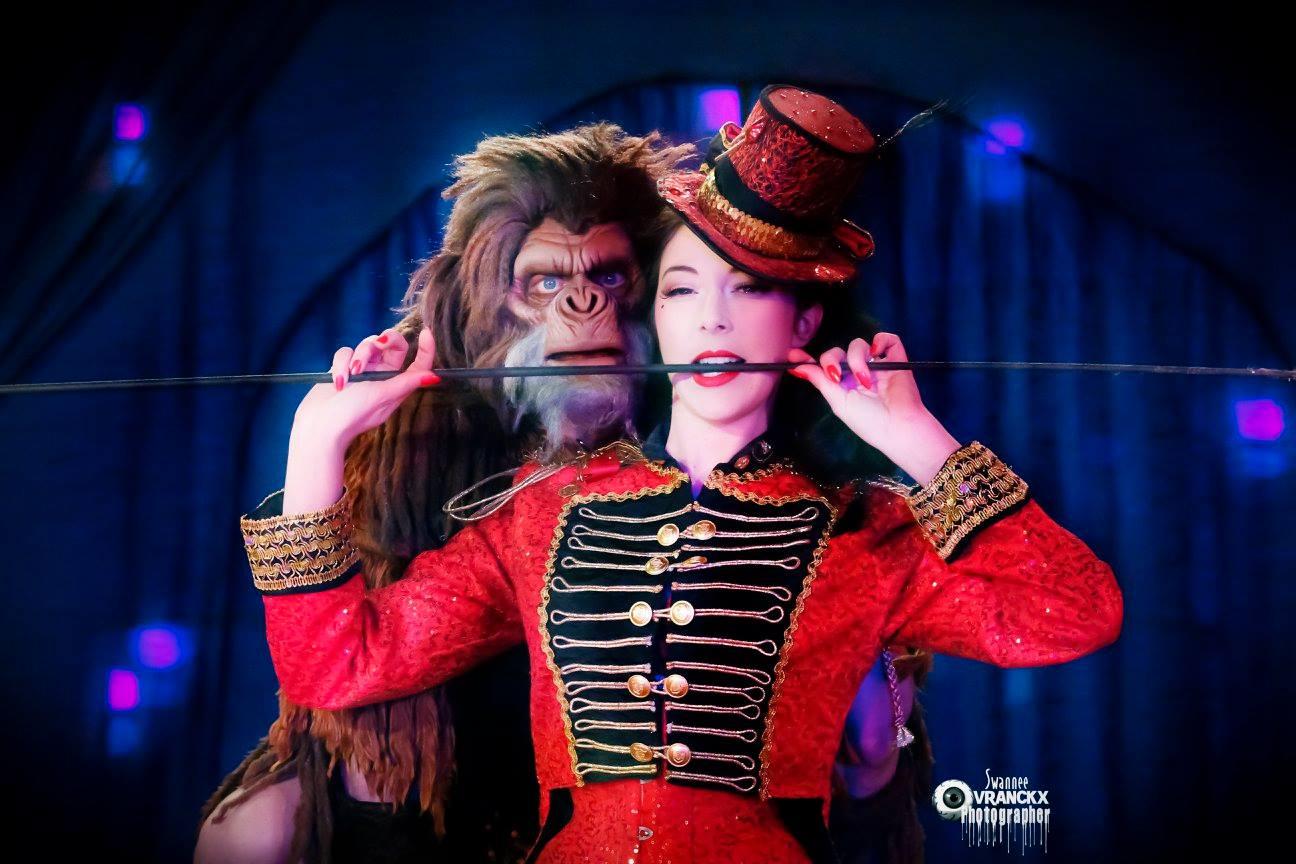 Costume CIRCUS - Ruby Colibri (sauf chapeau)