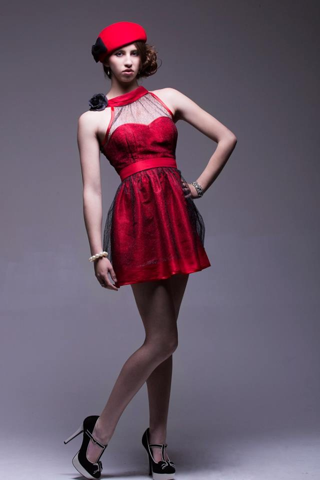 Robe RED DRESS
