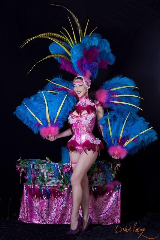 Costume de scène K-BIRDY - Ruby Colibri