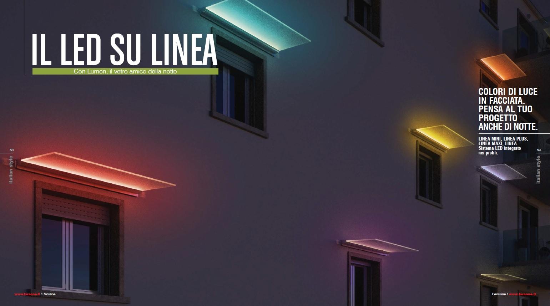 @Faraone Srl - Catalogo PENSILINE 2018 _ Linea LED 1