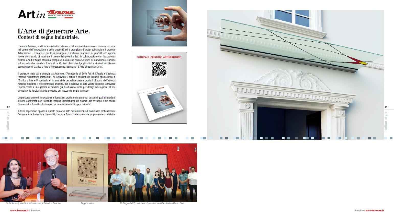 @Faraone Srl - Catalogo PENSILINE 2018 _ Art 1