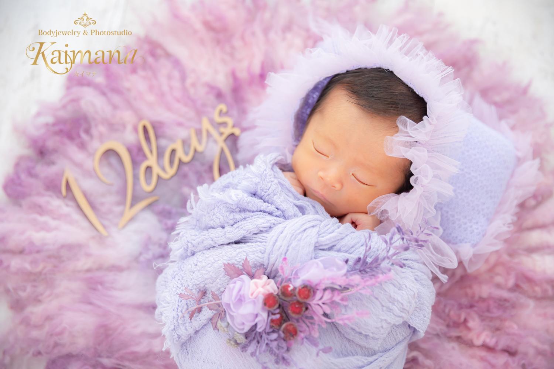ニューボーンフォト│生後12日の赤ちゃん