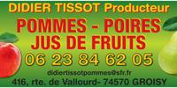 Logo producteur local Didier TISSOT Arboriculteur
