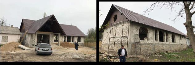 Construction de la nouvelle église et du centre de formation de Soroca