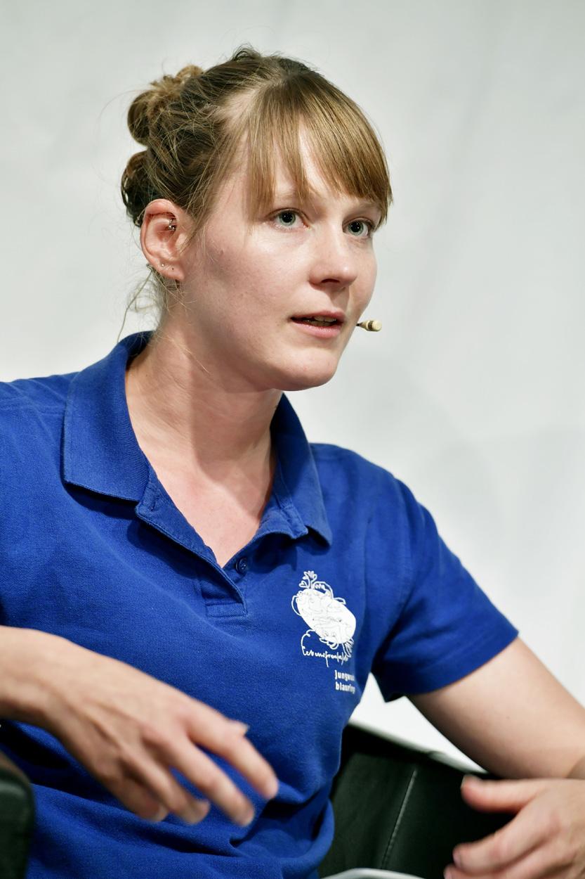 Andrea Pfäffli (Kommunikationsverantwortliche Jungwacht / Blauring)