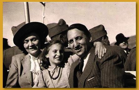 Ernst Prodolliet mit seiner Familie