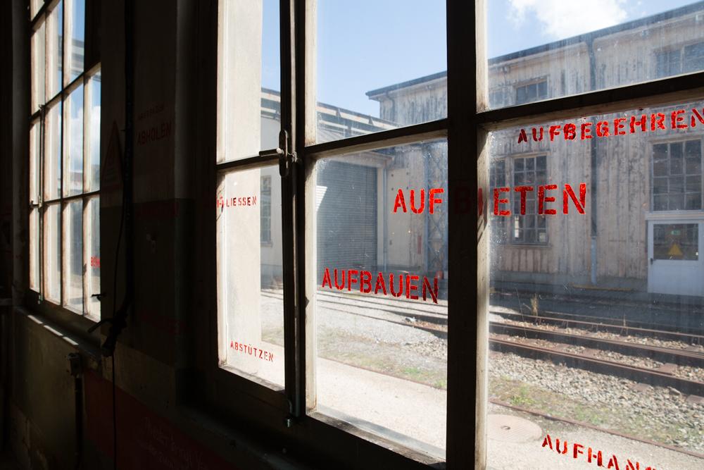 Ehemalige Hauptwerkstätte der SBB in Olten