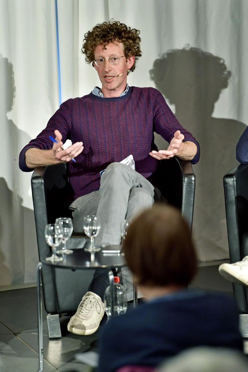 Roland Fischer (Kurator, Moderation)
