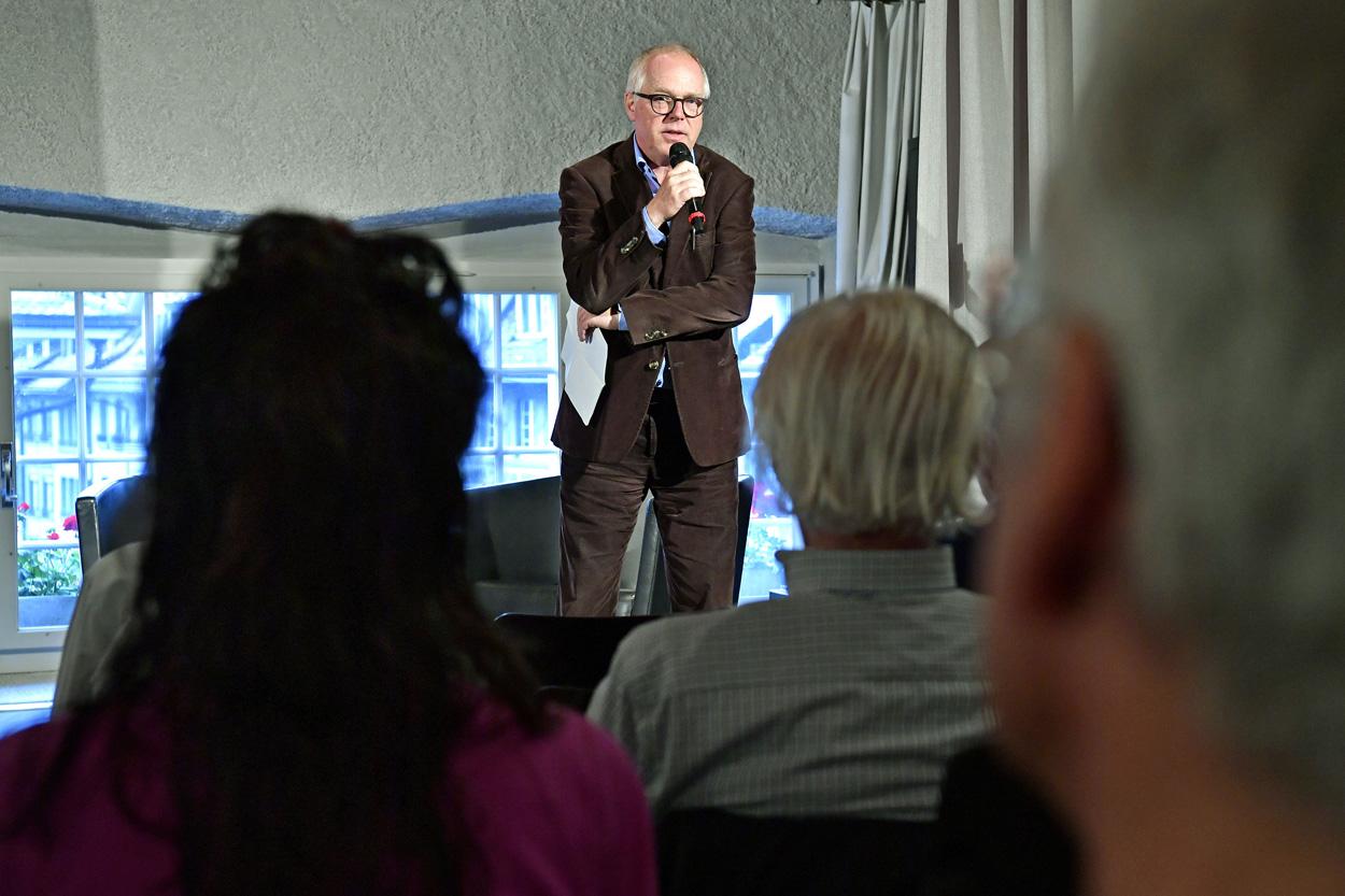 Thomas Göttin (Geschäftsführer Polit-Forum Bern)