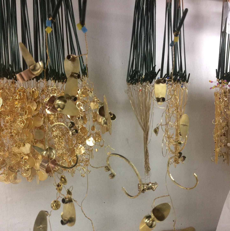 Les bijoux sont recouvert d'une couche d'or fin 24 carats