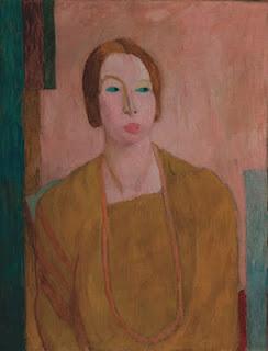 Porträt Mary Hutchinson von Vanessa Bell 1915
