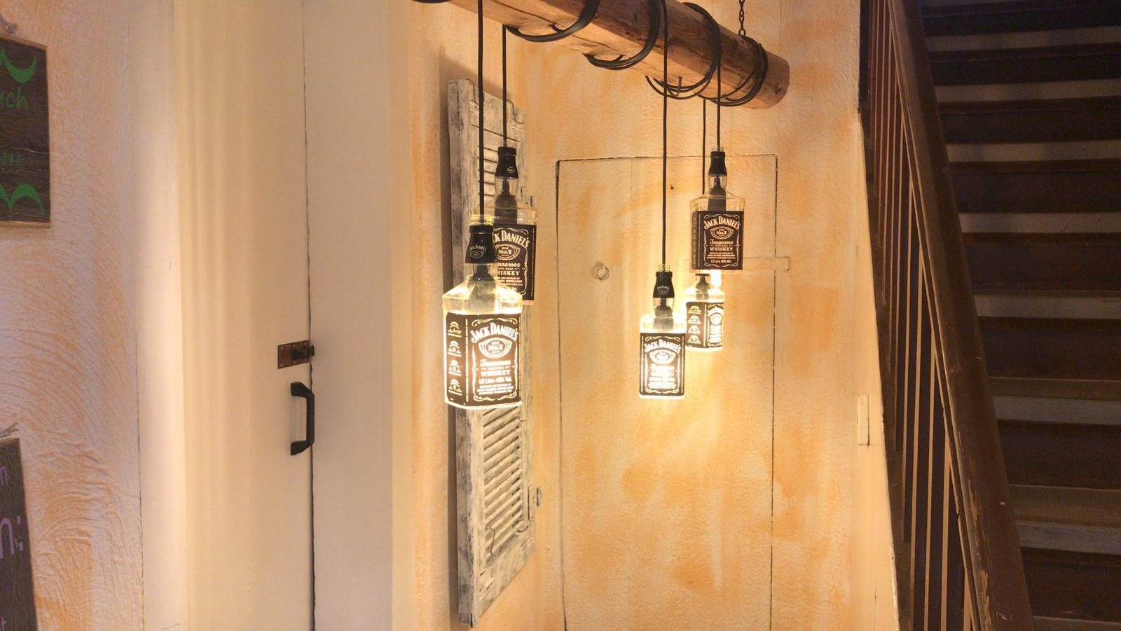 Lampen Aus Holzbalken Upcycling Mobel Fur Ein Modernes Zuhause