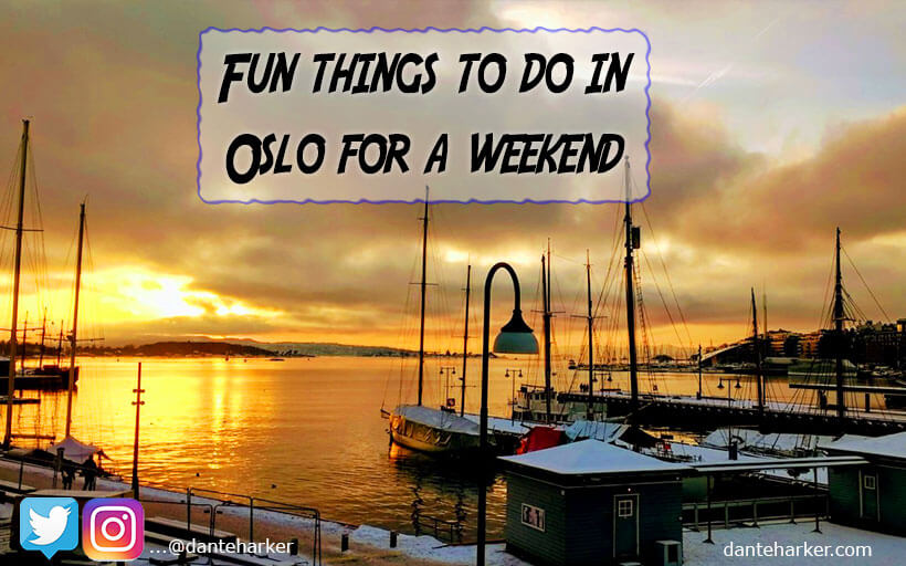 Fun things to do in Oslo for the weekend