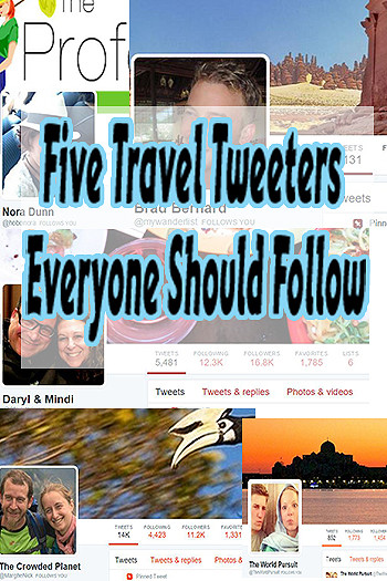 Five Tweeters Everyone Should Follow