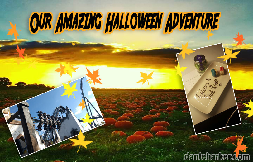 Our amazing Halloween Adventure - Dante Harker