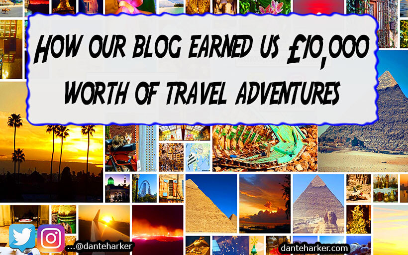 How our blog got us £1000 worth of travel adventures