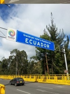 Leaving Ecuador over the land border on a budget. Dante Harker