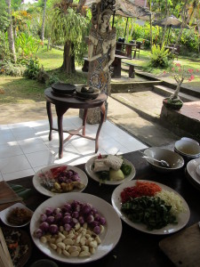 Cooking school in Bali