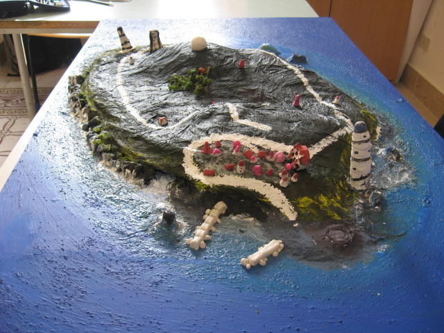 plastico isola di Ustica