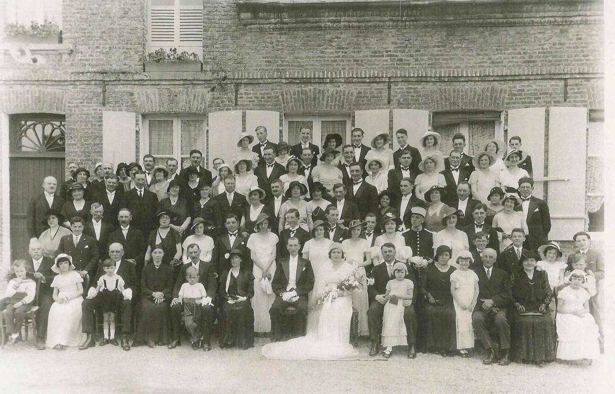 Le mariage de Mme verdure 1933