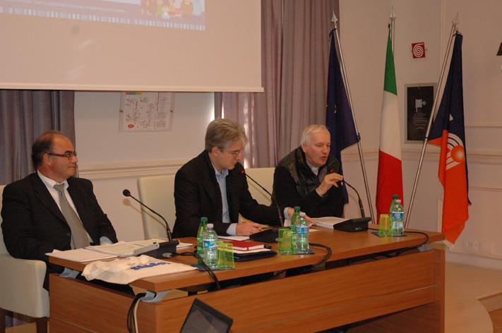 Tarcisio Antognozzi - Edio Costantini - Don Mario Lusek