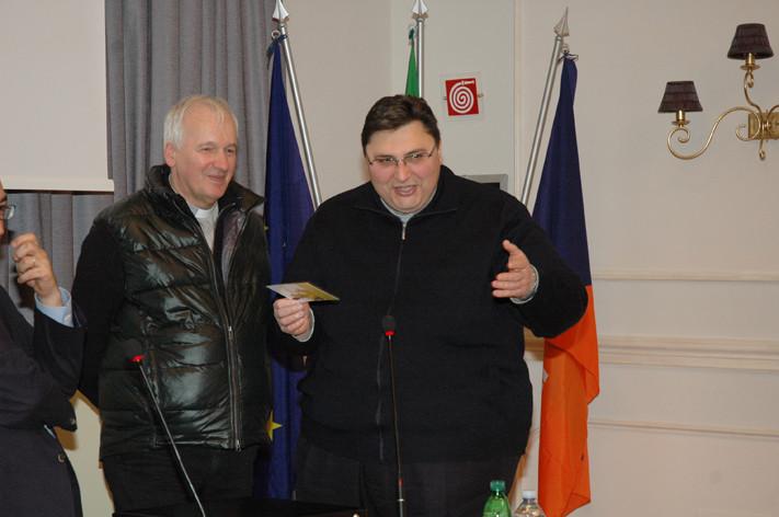 Don Mario Lusek - Padre Roberto Zorzolo